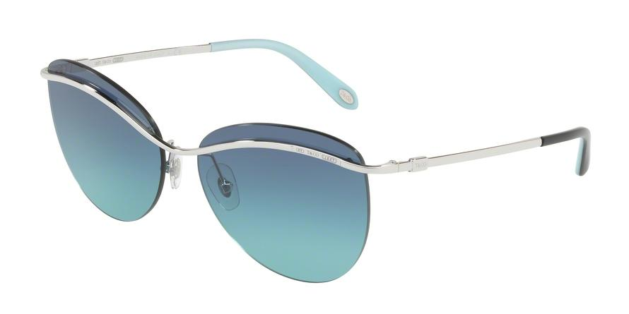Tiffany  TF3057 60479S Silver Butterfly Sunglasses picture 1
