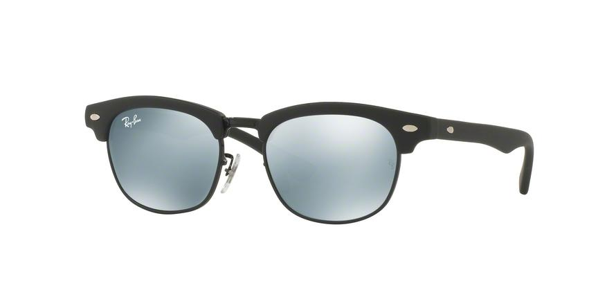 Ray-Ban Junior JUNIOR CLUBMASTER RJ9050S 100S30 Black Square Sunglasses picture 1