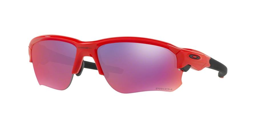 Oakley FLAK DRAFT OO9364 936405 Red Rectangle Sunglasses picture 1