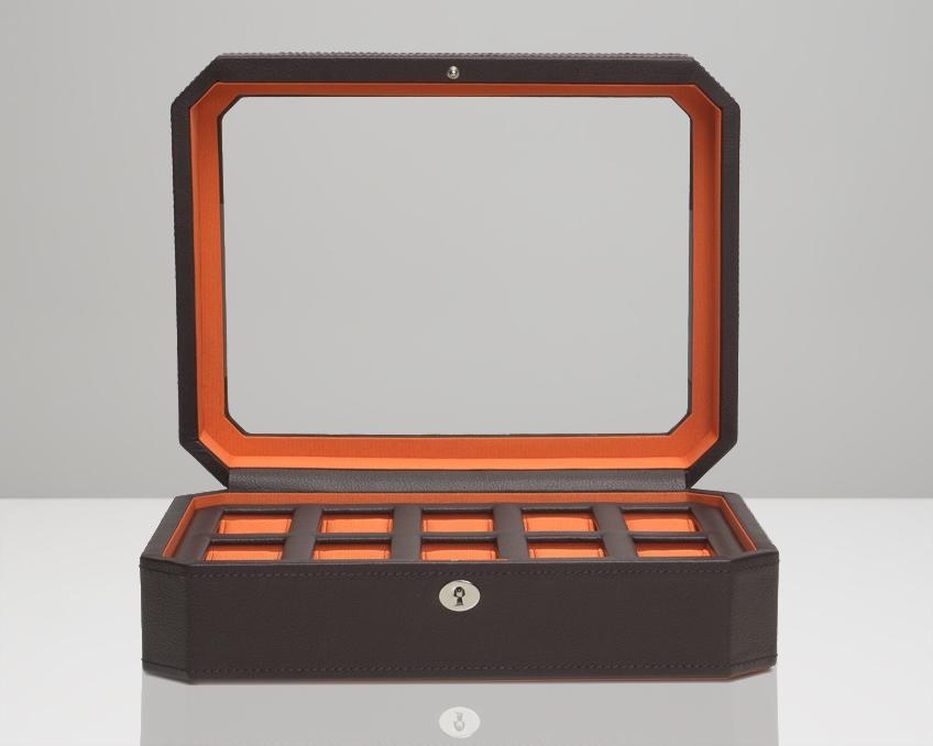 Omologato Wooden Display Box