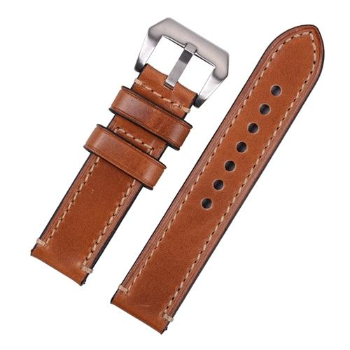 Heavy Stitched Leather Strap