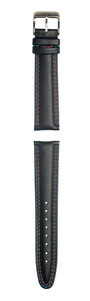 Strap - Orange/Blue Stitch