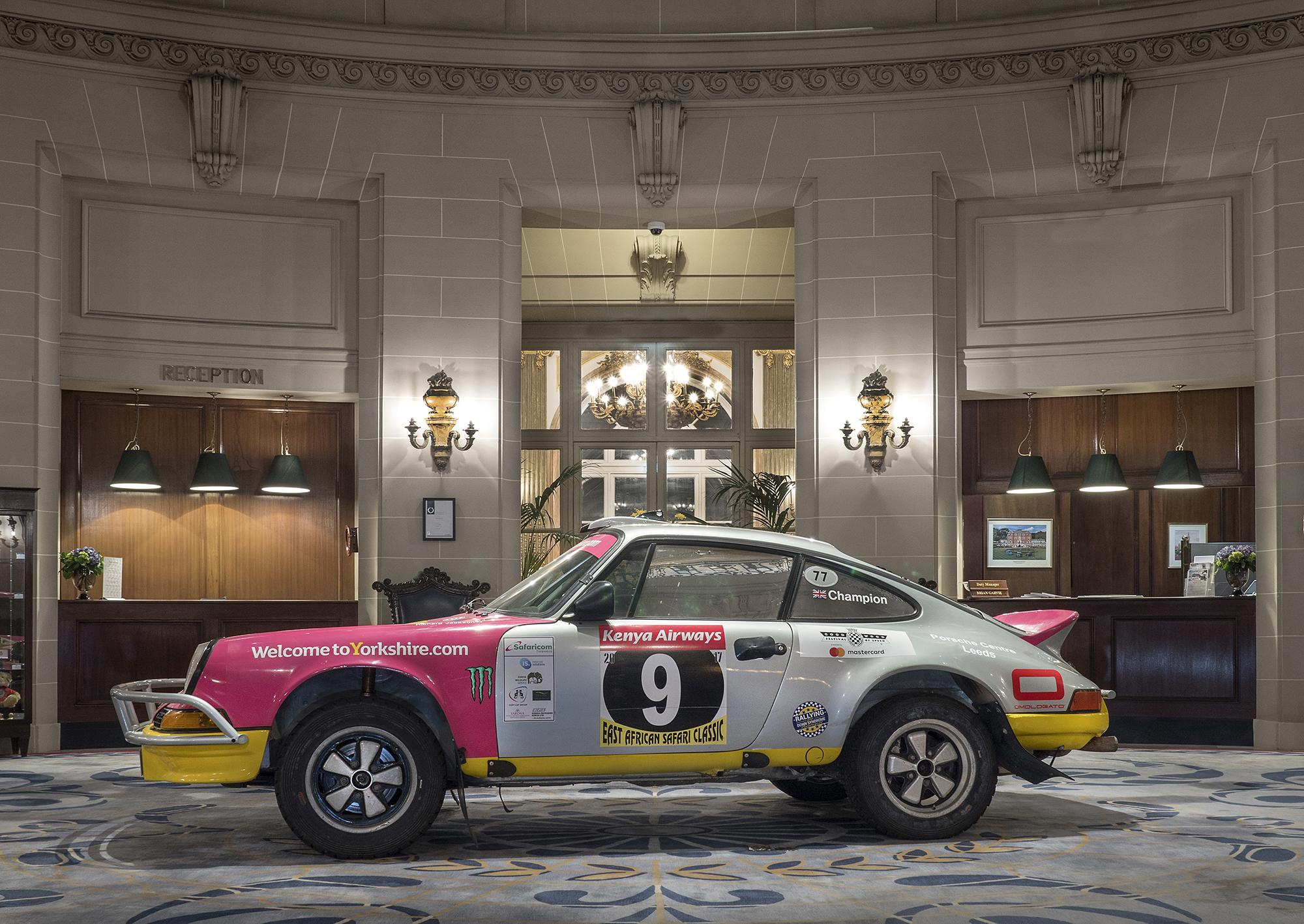 The Omologato 911 at The Rotunda RAC Club