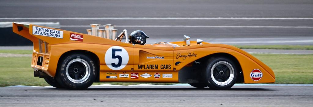 Omologato are proud to support Classic American Racing with SVRA