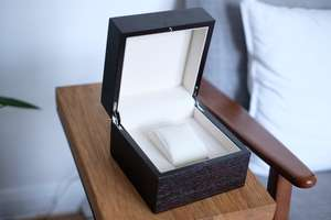 Solid wood watch box