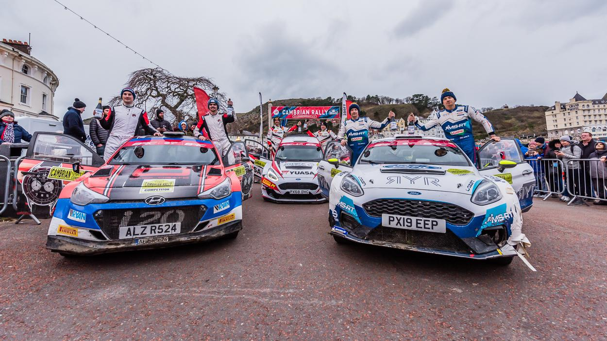 Omologato supports Osian Pryce in British Rally