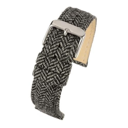 Herringbone watch strap