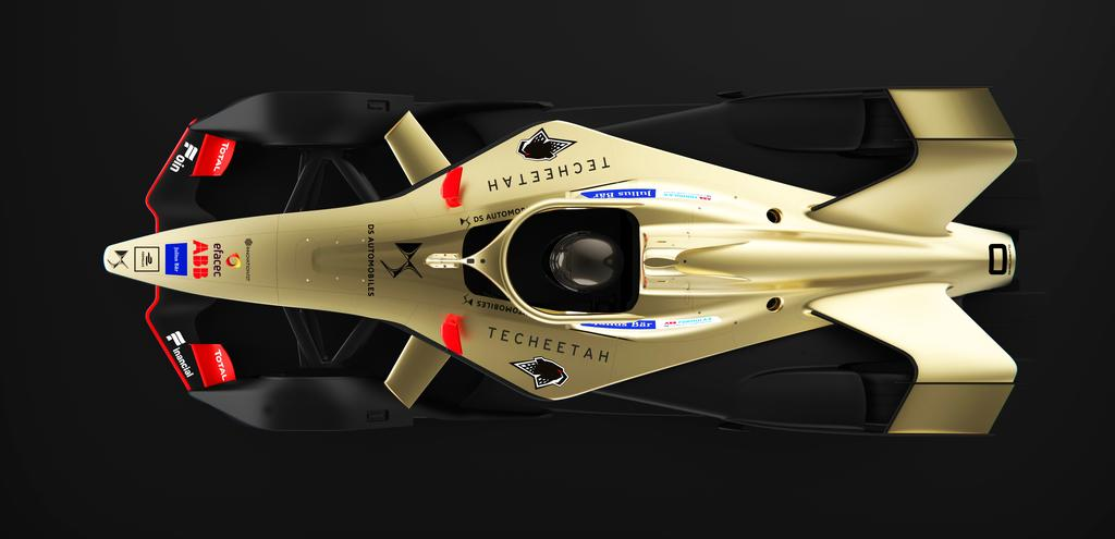Omologato in FORMULA E with DS TECHEETAH