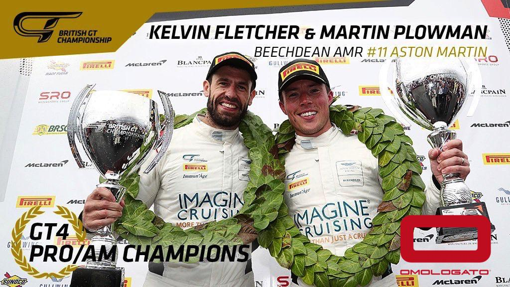 Plowman and Fletcher tango into the sunset with a comfortable GT4 ProAm championship win