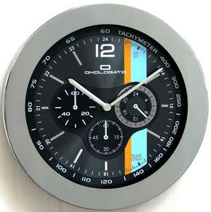 Le Mans Wall Clock