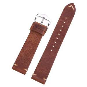 Distressed Look Leather Strap