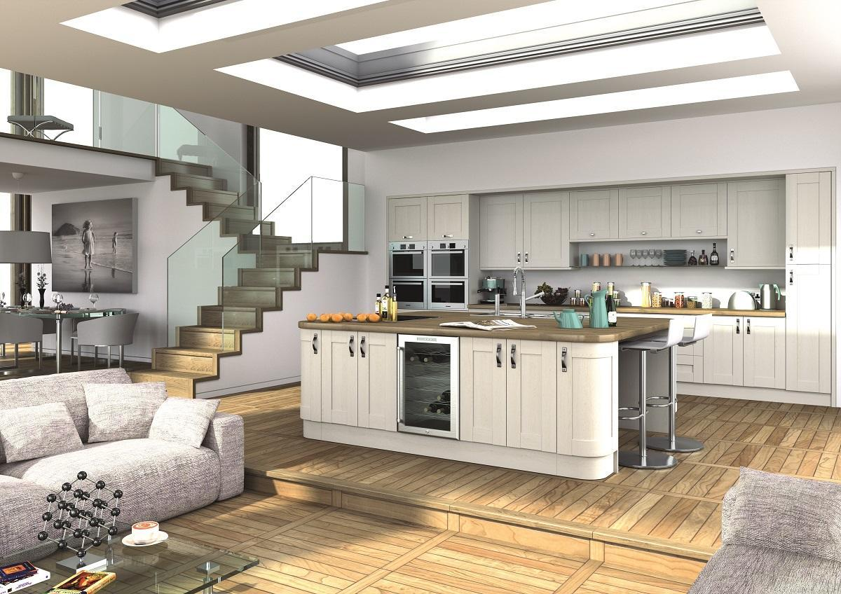 Wilton white kitchen