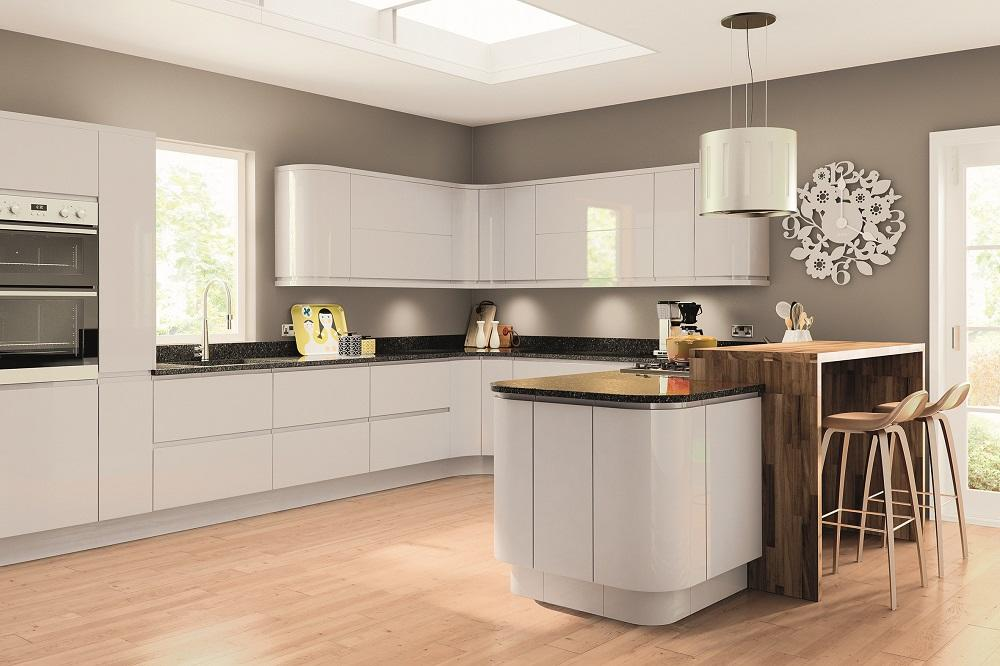 Lacarre Light Grey Kitchen