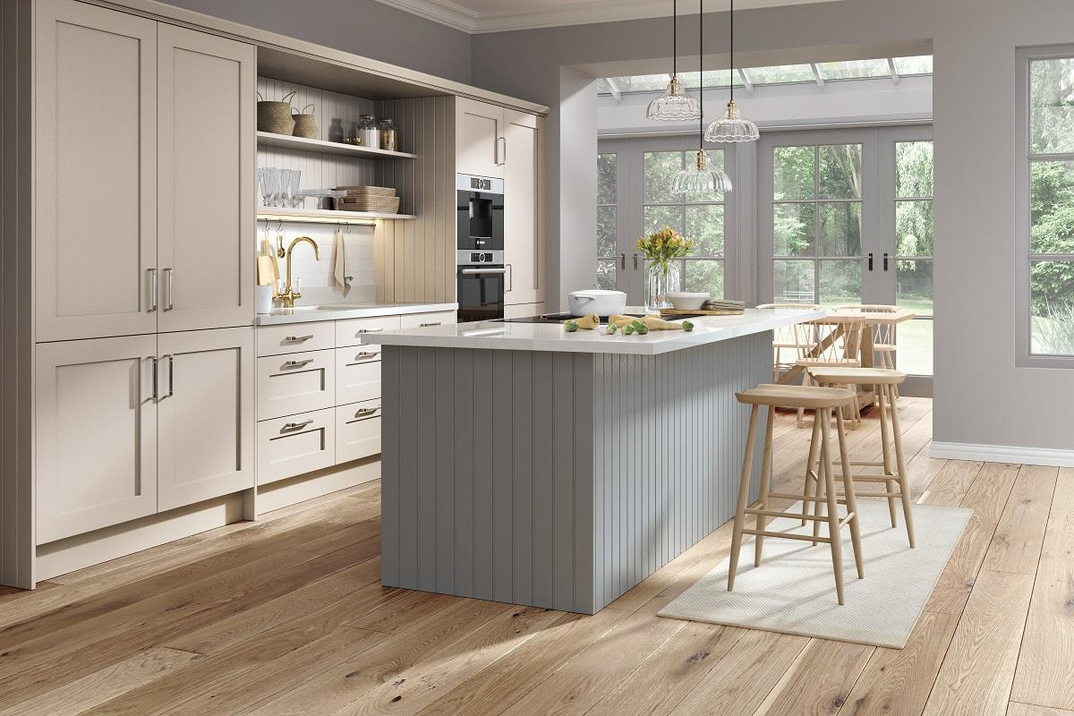 Wilton dust grey kitchen
