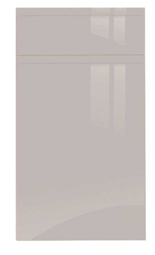 Jayline gloss light grey door
