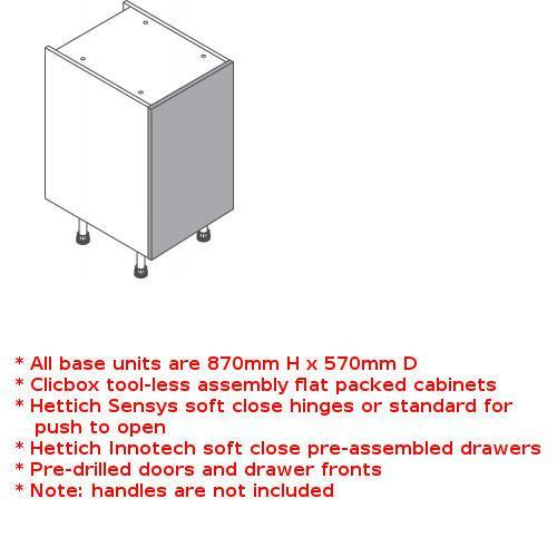 Clicbox highline unit single door