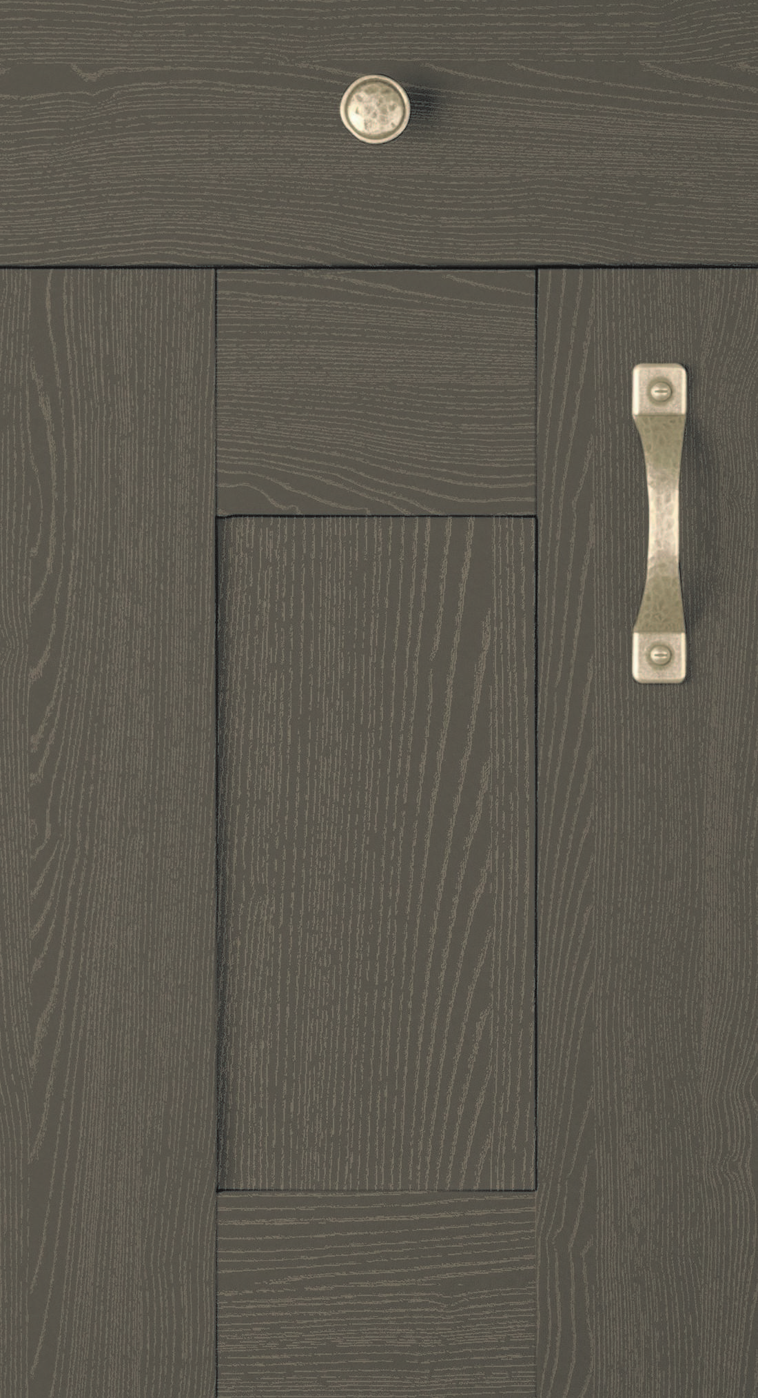 Oakgrain Graphite Door