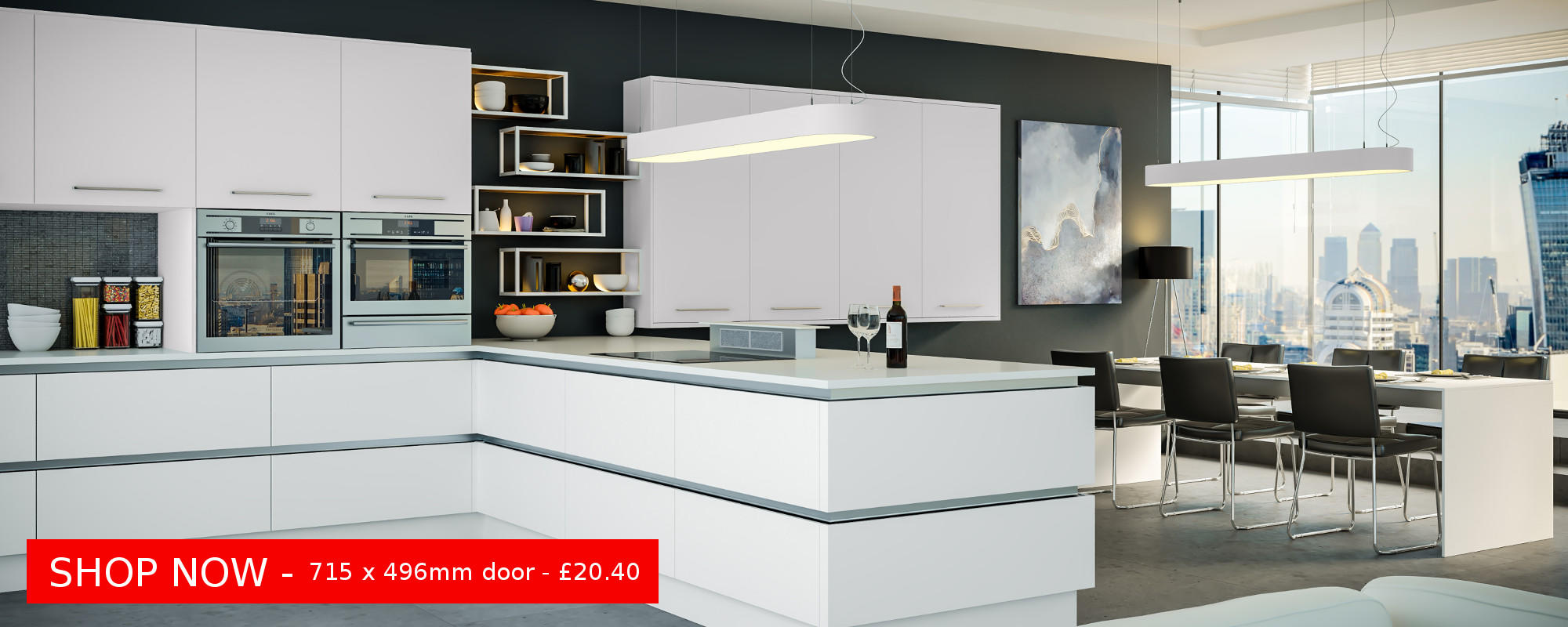 Firbeck Supermatt White - A stunning modern door