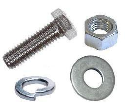 EXHAUST NUTS BOLTS & WASHERS