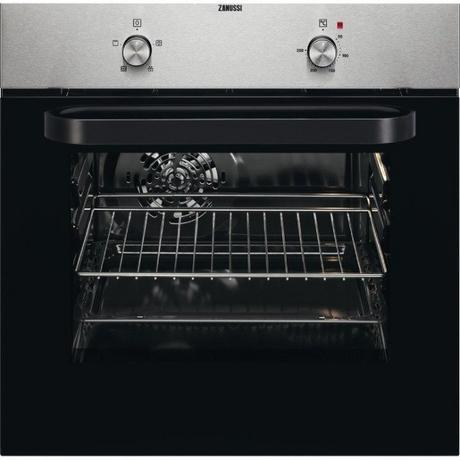 Zanussi Built In Electric Single Oven in Stainless Steel