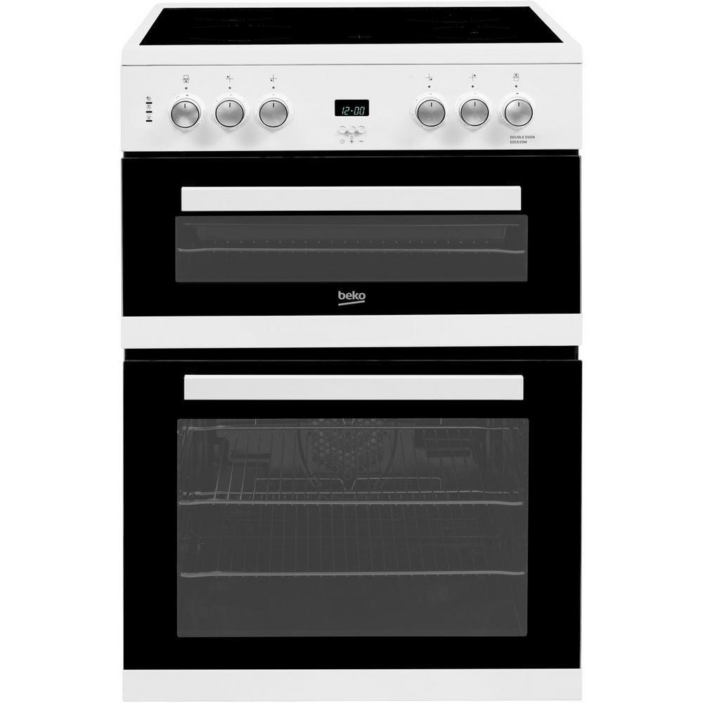 Beko EDC633W  Double Oven Electric Cooker