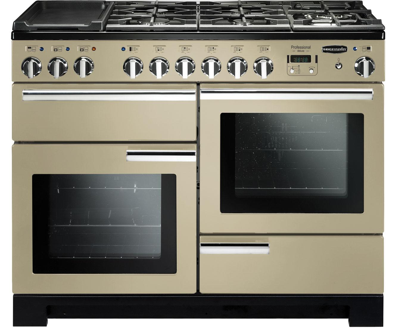 Rangemaster Dual Fuel Range Cooker in Cream