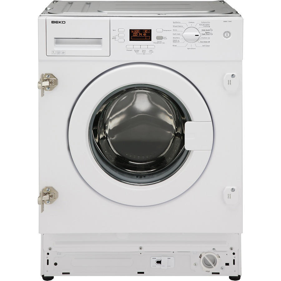 Integrated washing