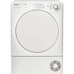 Hoover HLC8L White Condenser Tumble Dryer