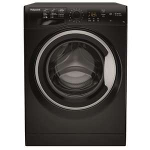 Hotpoint NSWF743UBS Washing Machine in Black