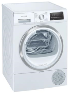 Siemens 9kg Heat Pump Tumble Dryer in White