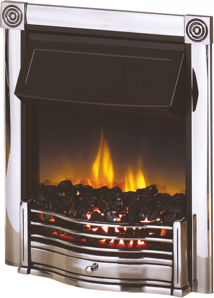 Dimplex Horton Chrome 2KW Electric Inset Fire