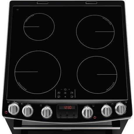 Zanussi Double Electric Oven with Induction Hob