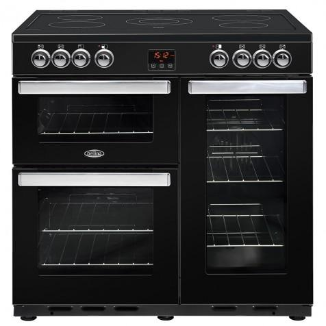 Belling 90EBLK Electric Range Cooker - Black