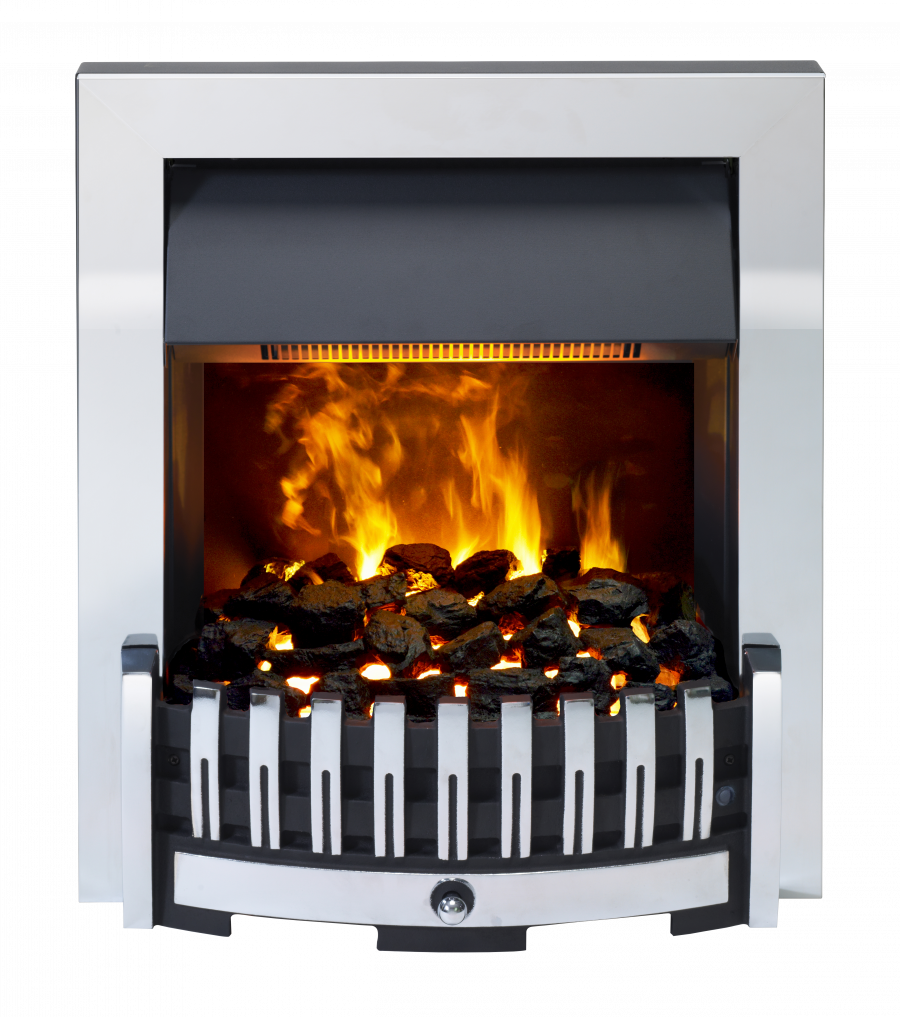 Dimplex Danville Chrome Opti Myst 2kw Electric Inset Fire
