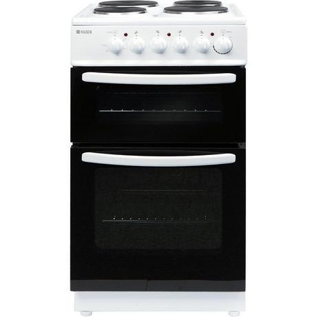 Haden Electric Cooker with Twin Cavity in White