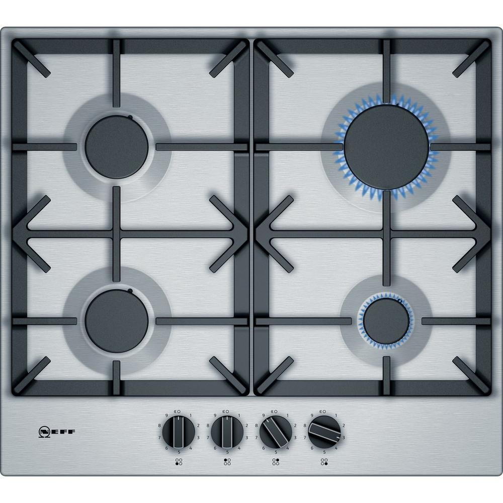NEFF 60cm Gas Hob in Stainless Steel