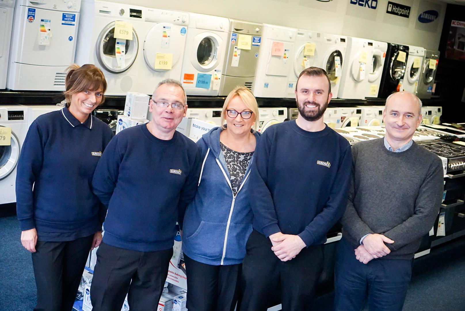 Our sales staff are ready to help you pick the best appliance for your needs