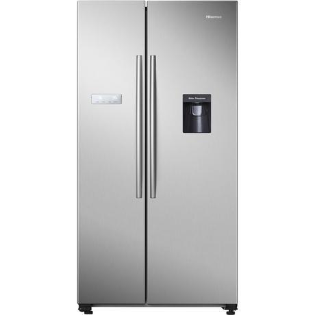 Hisense American Style Fridge Freezer in SS