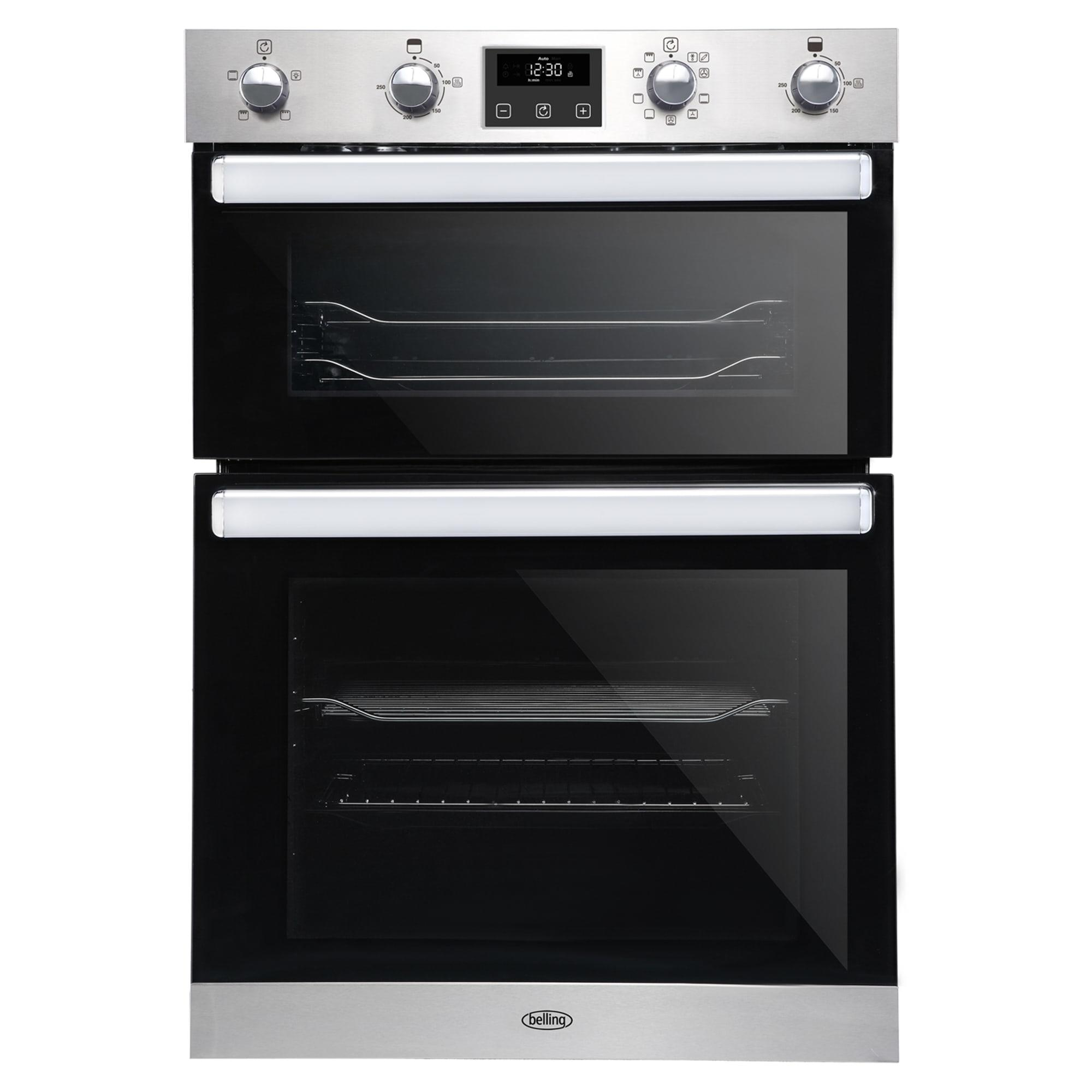 Belling BI902FPSTA Built-In Electric Double Oven