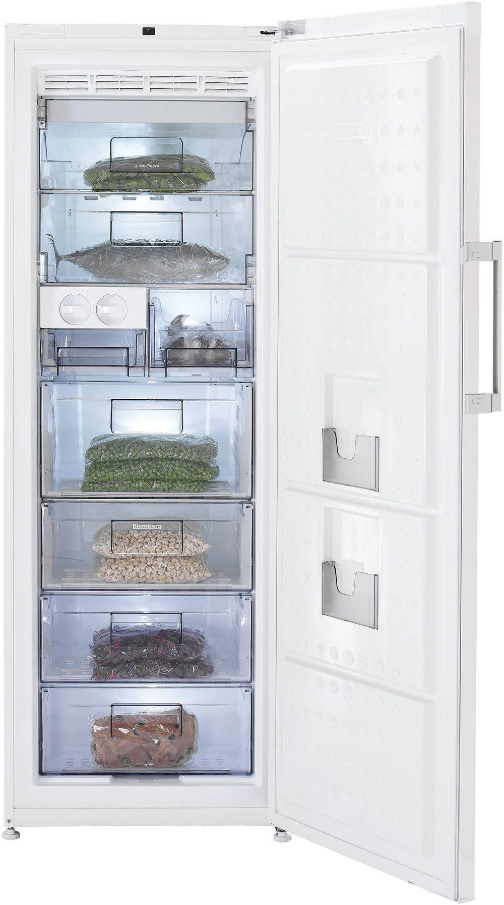 Blomberg Tall Freezer in White