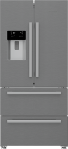 American Style Fridge Freezer In Stainless Steel