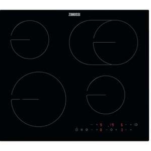 Zanussi 59cm Ceramic Hob in Black