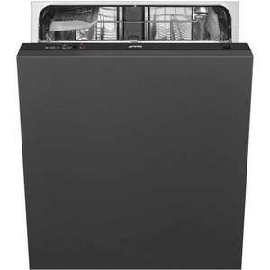 Smeg Fully Integrated Dishwasher in Black