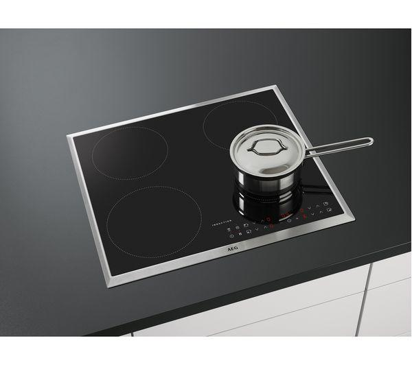 AEG Electric Induction Hob in Black
