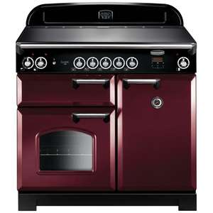 Electric Range Cooker with Induction Hob
