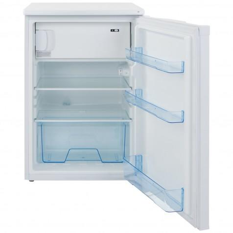 LEC Undercounter Fridge with Icebox in White