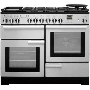 Dual Fuel Range Cooker in Stainless Steel
