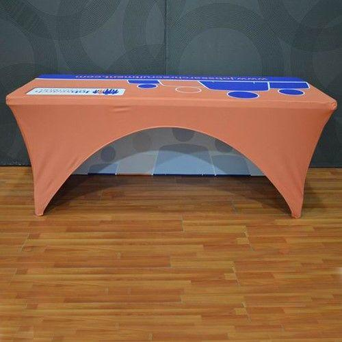 stretch graphics open back table cover