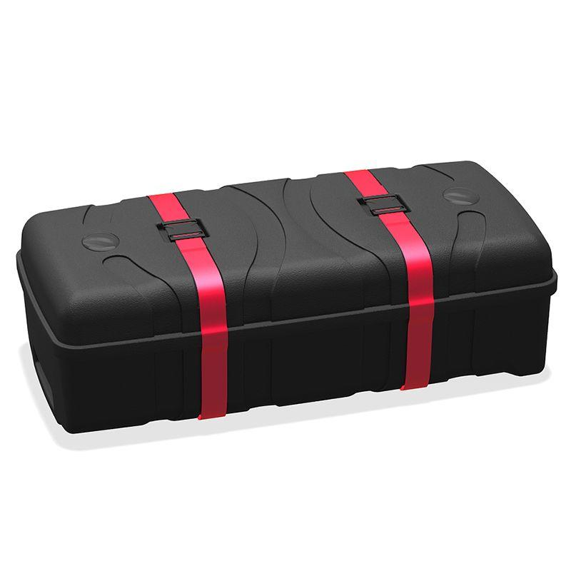 folded down heavy duty carry case