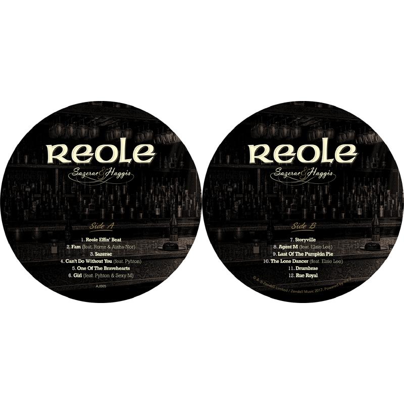 Reole Sazerac Amp Haggis 12 Inch Lp